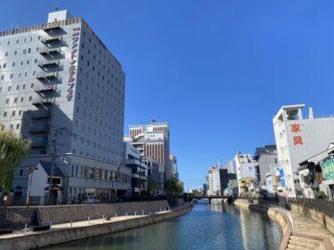 【福岡の映像制作向けロケ地】博多川 – 川の風景や街中の風景撮影