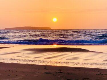 【福岡の映像制作向けロケ地】古賀海岸 – 美しい海や夕日などの風景撮影